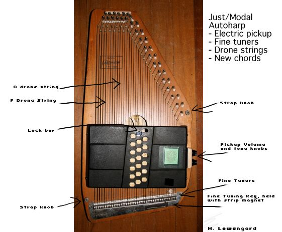 The Auto Harp Tunings and modifications Page