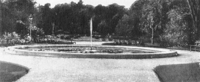 Prospect park rose garden